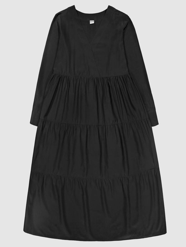 Silje Silk Dress black