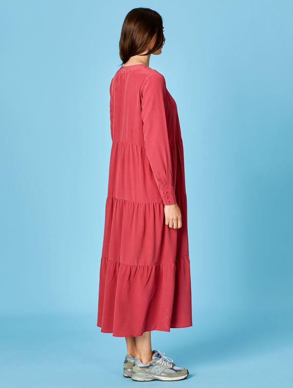 Silje Silk Dress mauvewood