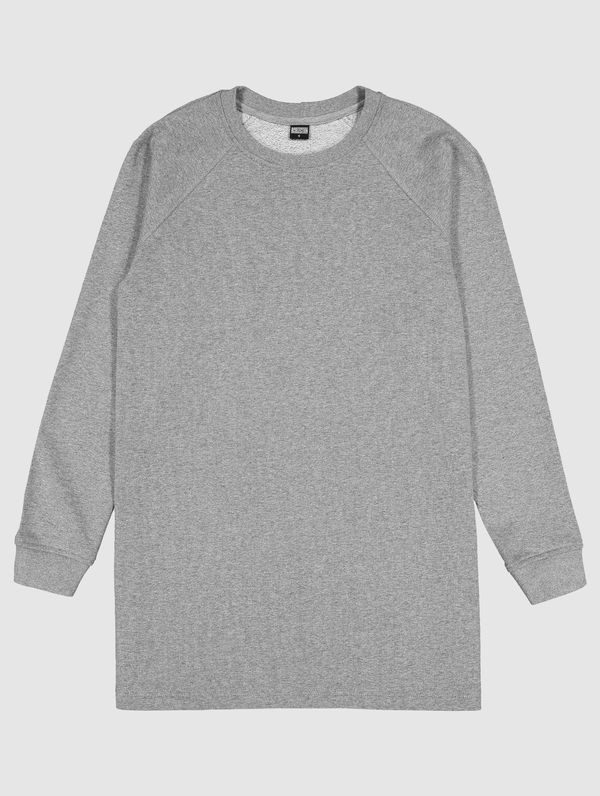 Sweatshirt Dress light melange grey