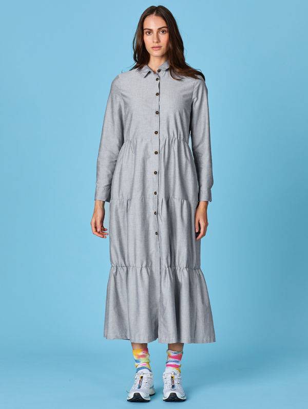 Aava Dress light grey melange