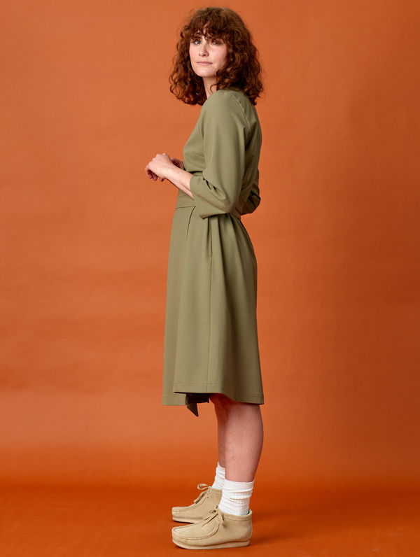 R-Collection Wrap Dress