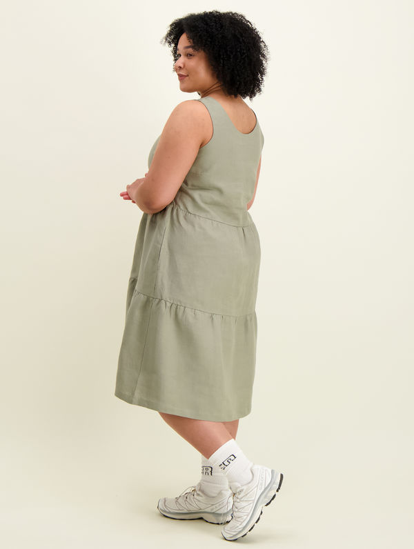 Kirsi Dress light moss green