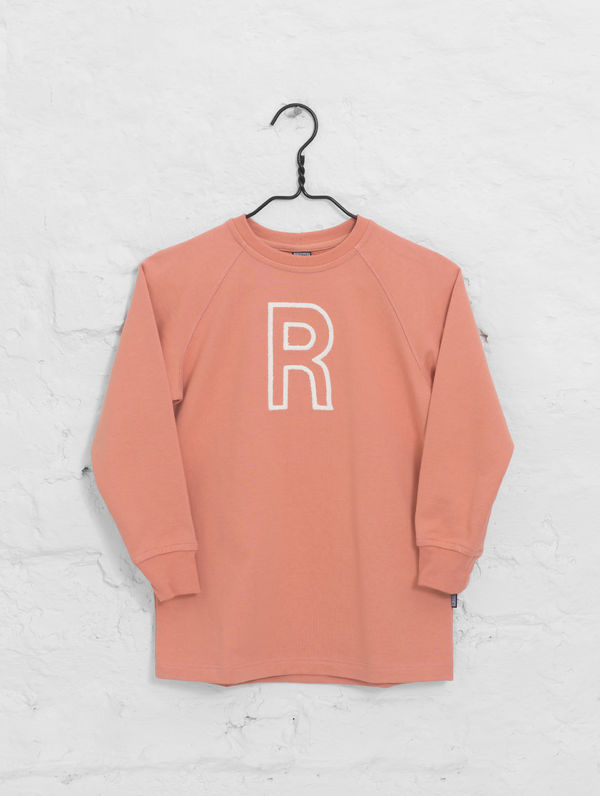 Children's Long Sweatshirt peach
