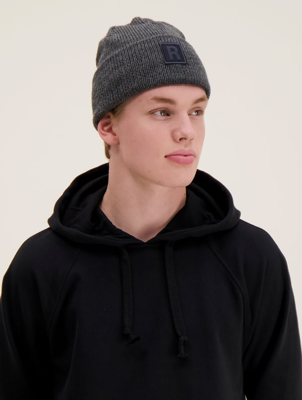 RC X Villawool Trooper Beanie dark grey melange