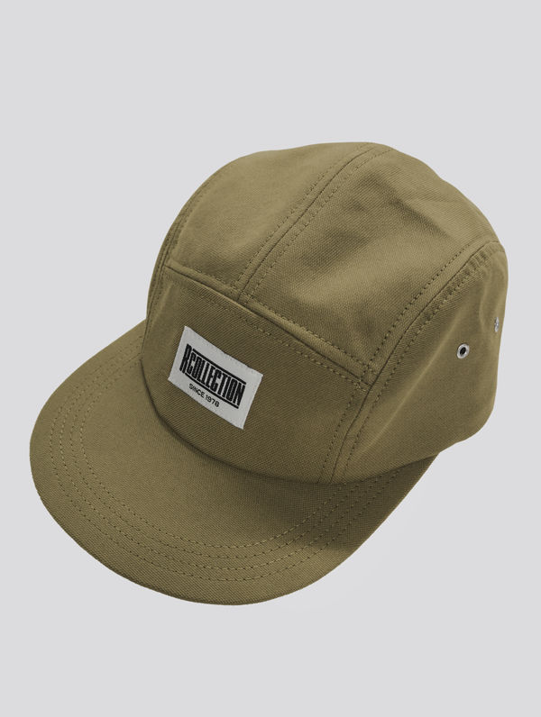 R-Collection 5-panel light moss green