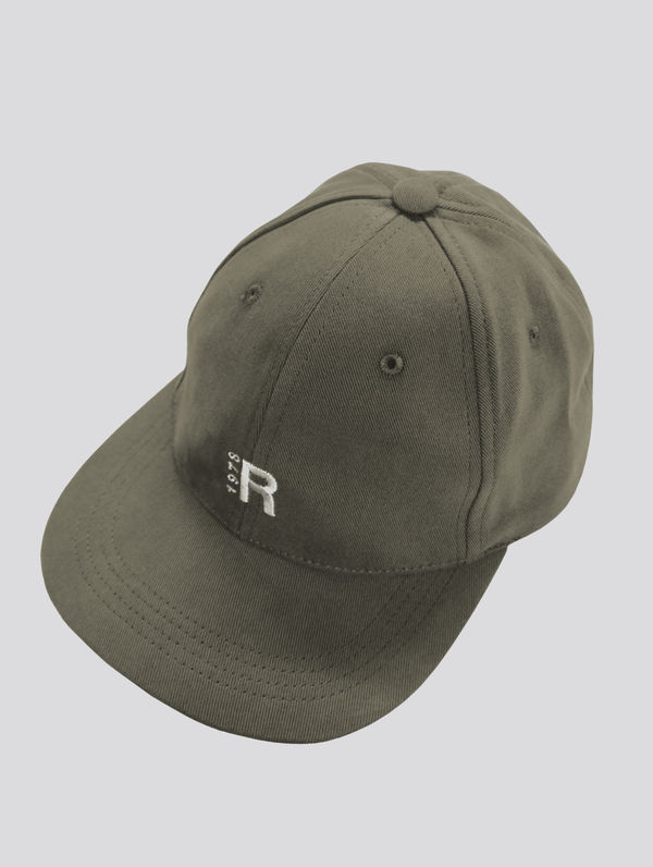 R-Collection 6-panel moss green