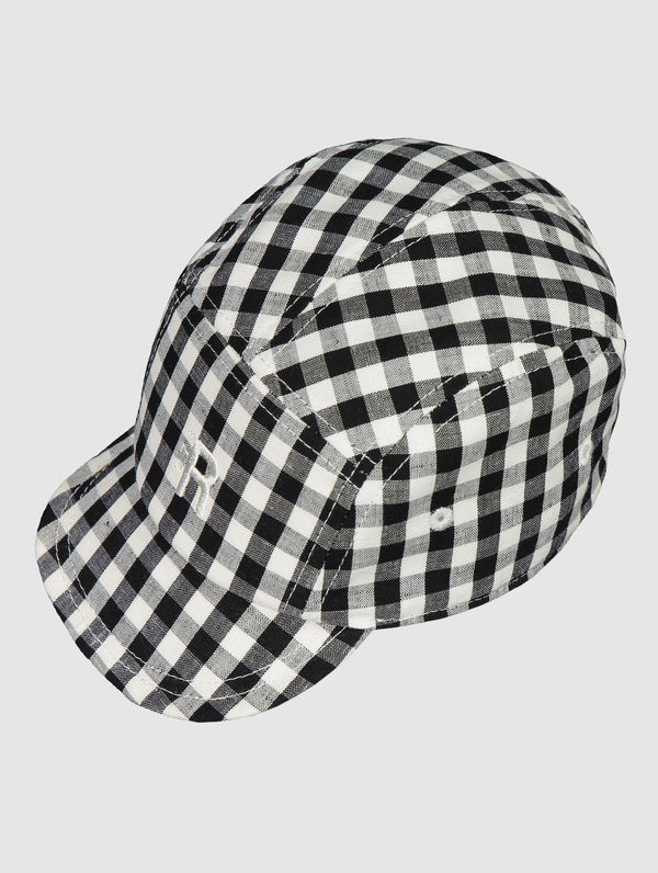 RC Kids 5-panel black/white check