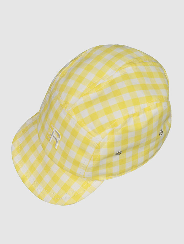 RC Kids 5-panel white/yellow check