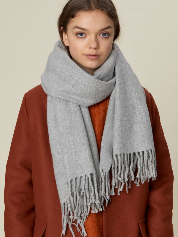 Viima Scarf light grey melange