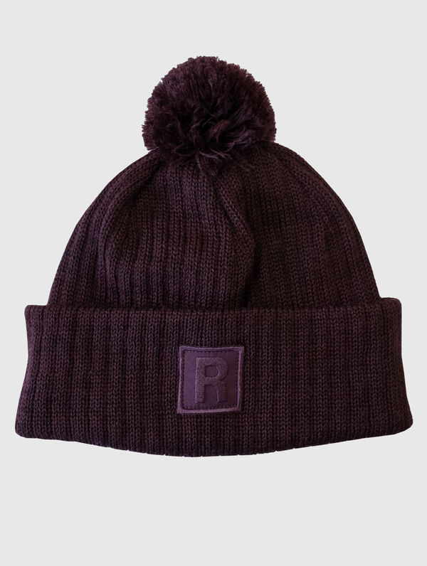 RC X Villawool Bobble Beanie chocolate