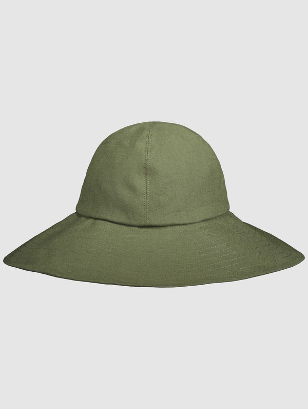 Summer Hat moss green