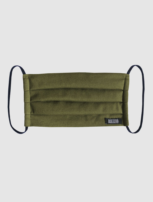 Cloth Face Cover olive green