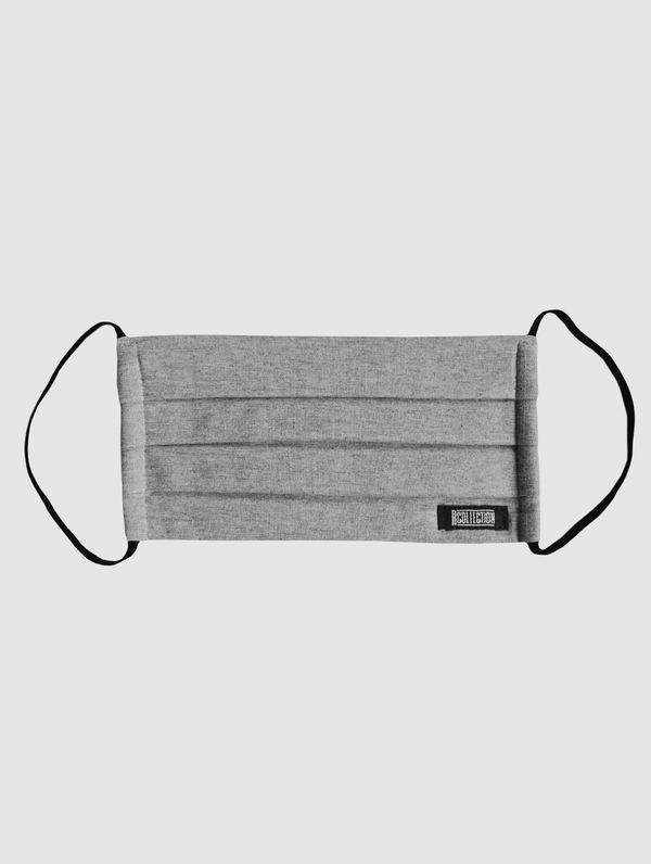 Cloth Face Cover light grey melange