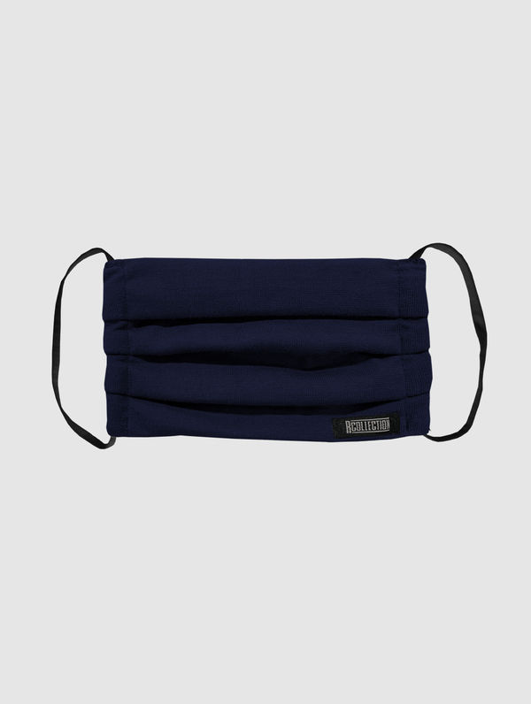 Kids' Cloth Face Cover dark blue