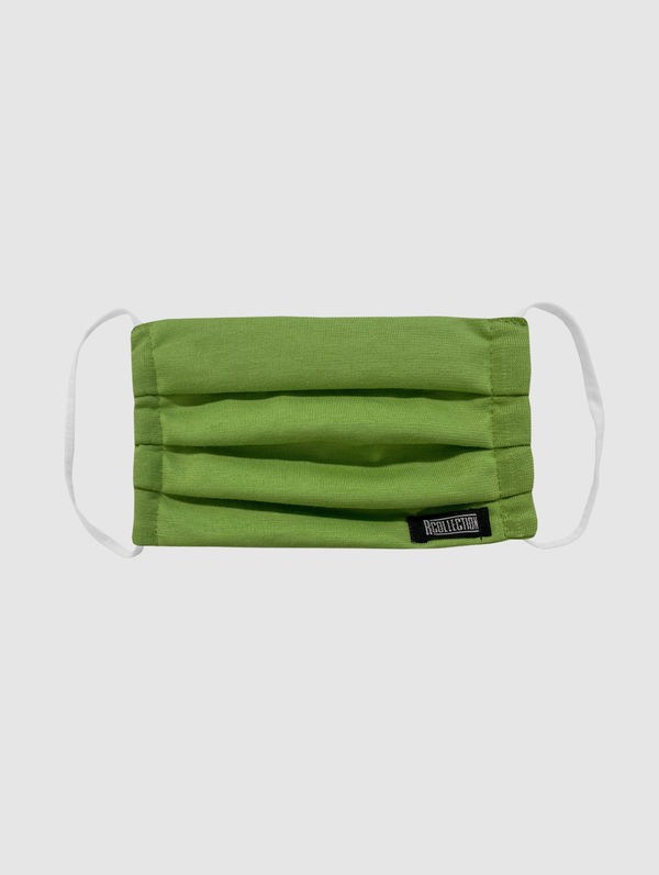 Kids' Cloth Face Cover apple green