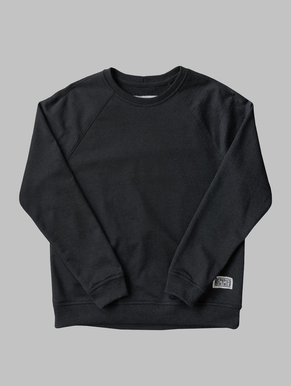 Recycled Sweatshirt asphalt