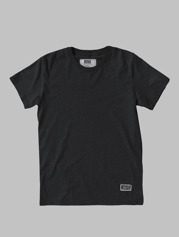 Recycled T-Shirt (regular fit) asphalt