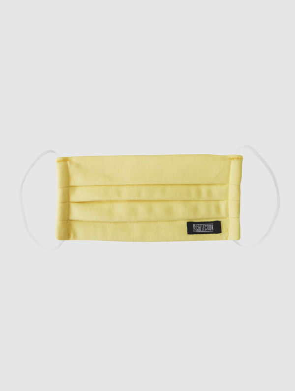 Kids' Cloth Face Cover lemon